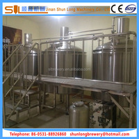 Turn-key solution brewing system well insulated fermentation tank 20bbl 3000l beer brewing equipment