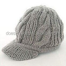 2012 new style fashion knitting pattern earflap hat