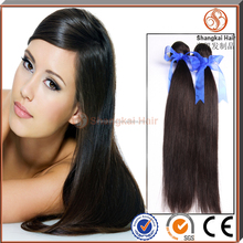 Top quality wholesale factory price 100% all natural, unprocessed 8 inch virgin remy indian hair weft