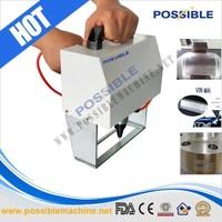 Bottom price Possible handheld motorcycle frame pneumatic marking machine