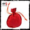All purpose custom velvet drawstring pouch bag,velvet fabric jewelry bags jewellery pouch