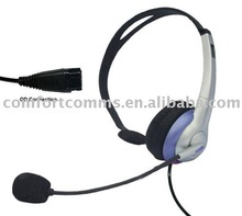 Reliable quality with QD headphone for call center HSM-69PQD