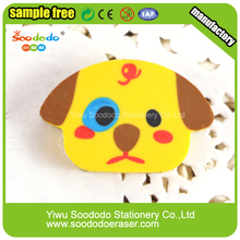 animale forma di puzzle colorato piatto bambino gomma