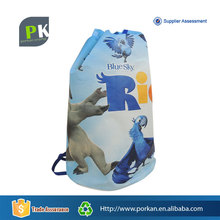 2D Cartoon Drawstring Non-woven Fabric Kids School Bags