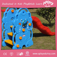 Useful kids outdoor and indoor playground small plastic slide for home backyard AP IS0022