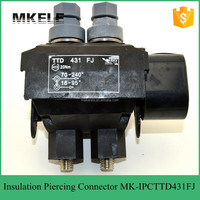 MK-IPCTTD431FJ new material weather resistant Low voltage series Insulation Piercing Connector for ABC cable