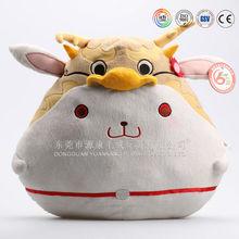 Stuffed cat pillow cat body shape pillow