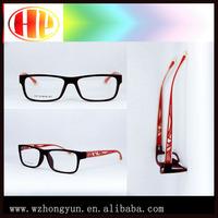 Women acetate crystal eyewear glasses