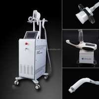 3 handles Professional rf cavitation Cryolipolysis cold therapy belly fat removal weight loss rf vacuum machine