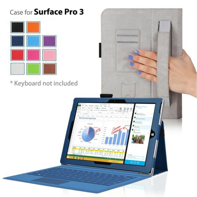 Case for microsoft surface pro 3 view for microsoft surface pro