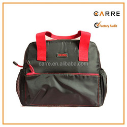 large capacity thermos tote insulated cooler bag for lunch
