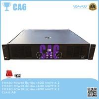audio video speaker mixer power amplifier CA 6 8 ohm 400w system