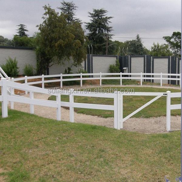 Hot sale farm fence pvc vinyl horse made
