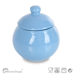 small sugar or candy pot / food container with lid