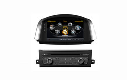 Car DVD for Renault Koleos with built-in GPS A8 chipset RDS BT 3G/Wifi DSP Radio 20 dics momery(TID-C329)
