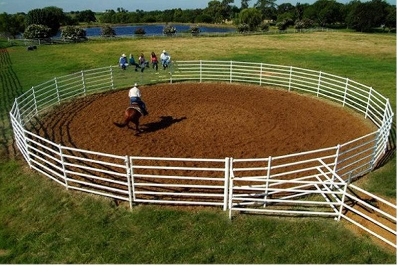 Customized Pvc Coated Horse Round Pen For Sale Buy Pvc