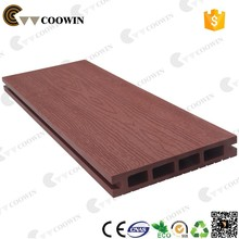 Wood-plastic composite decking floor Family necessary