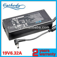 shenzhen laptop adapter 19v6.32a for toshiba power supply