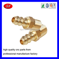 OEM/ODM Brass Gas Compression Pipe Fittings