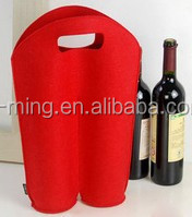 Top Quality Promotional fashion cheap Newest design customized portable wine cooler bag