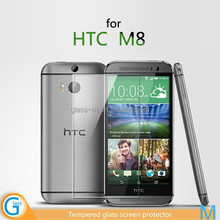 Scratch Resist Tempered Glass Screen Protector for HTC ONE M8