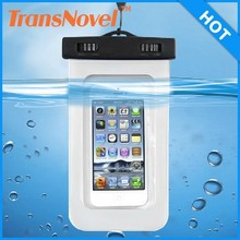 cheap pvc waterproof phone case/cell phone waterproof bag/floating waterproof phone bag
