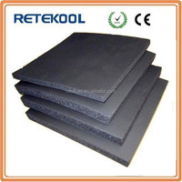 Flexible foam rubber insulation sheet