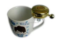 hebei cangzhou Popular beer glass bells/decorate beer bells/beer mug for bicycle bell