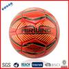 Made of original rubber bladder fluorescent football