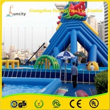 China guangzhou new product steel frame swimming pools /swimming frame pool equipment with all accessories included