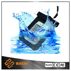 Hot sale waterproof phone bag from Shenzhen wholesale price