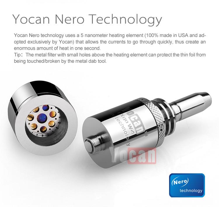 Yocan Nero technology mod type newset wax vaporizer Yocan Exgo W4