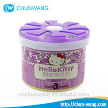 Free sample MSDS 100g gel Electric air fragrance,Air fresh for car with OEM&private label