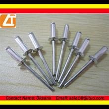 Rivets factory!pop rivet flat head