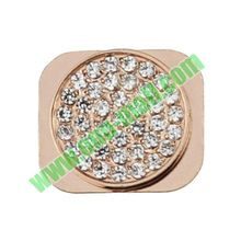 Small Rhinestone Inlaid Home Button Key Replacement for iPhone 5