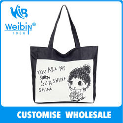 Top Sale Promotional Foldable Bag Rose Foldable Shopping Bag wholesale