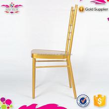 2015 New Design Qindao Sinofur restaurant hotel aluminium chiavari chair with great price