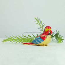 Lucky bird metal trinket box for wedding gifts