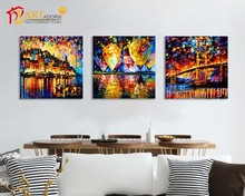 Triptych art wall paintings wholesale canvas printed