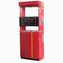 Oil fuel equipment on gas station