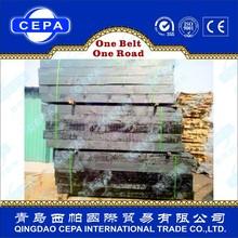 2m high quality treated railway wooden sleepers