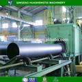 Tubulação de aço preto/tubo de ferro usado shot máquina de jateamento