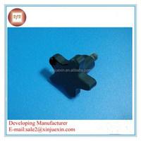CP0009X Thermoplastic five-Lobe black plastic knob handle