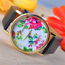Top design cheap ladies fancy watches, leather ladies fancy watches