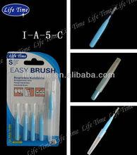 ultra thin interdental brush/Life Time interdental brush /cheap and high quality interdental brush