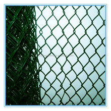 Used high quality aluminium alloy chain link fence for sale, chain link fencing for security