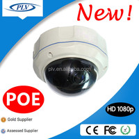 1080P POE Dome HD IP Camera Ethernet Monitor, Outdoor Network Camera
