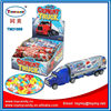 2016 pull back Cement truck container car candy toy