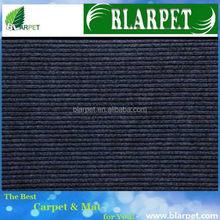 Top grade branded unique stripe polyester rug carpet