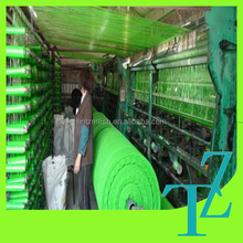 green/black 95% sun shade net for tropic area roof/yard cover